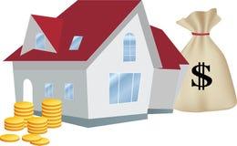Maison en tant qu'investissement profitable Image libre de droits