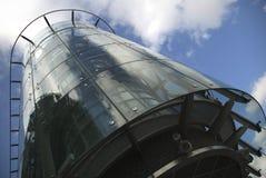 Maison en verre Photos libres de droits