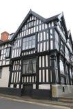 Maison encadrée de bois de construction, Ledbury photo libre de droits
