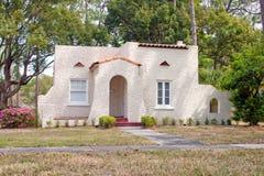 Maison espagnole de la Floride de type Image libre de droits