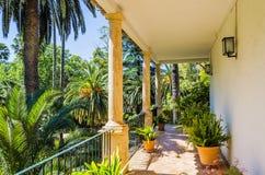 Maison espagnole historique chez Alfabia Photos stock