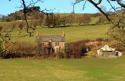 Maison et grange abandonnées Images stock