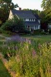 Maison et jardin Photographie stock