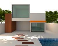 Maison extérieure Images stock