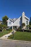 Maison faite sur commande en plage de Newport, CA Images libres de droits