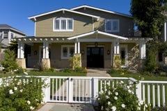 Maison faite sur commande en plage de Newport, CA Photographie stock