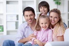 Maison familiale Photographie stock libre de droits