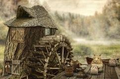 Maison féerique (moulin) Photographie stock libre de droits