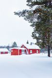 Maison finlandaise photographie stock