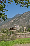 Maison folklorique tibétaine Photos stock