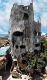 Maison folle dans Dalat, Vietnam Image libre de droits