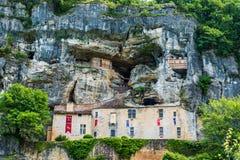 Maison forte- de Reignac dordogneperigord france royaltyfria bilder
