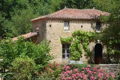 Maison française traditionnelle photos stock