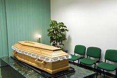 Maison funèbre Photographie stock libre de droits