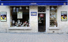 Maison Godard factory boutique store in Sarlat, France Royalty Free Stock Photo
