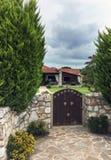 Maison grecque traditionnelle photo stock
