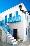 Maison grecque traditionnelle sur l'île de Sifnos images stock