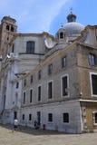 maison habitée à Venise photo libre de droits