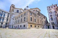 maison habitée à Venise photographie stock libre de droits