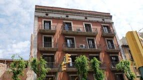 Maison habituelle dans le style espagnol Photo stock