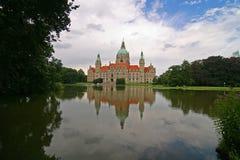 Maison Hanovre Allemagne de maire Image stock