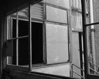Maison hantée abandonnée Photos libres de droits