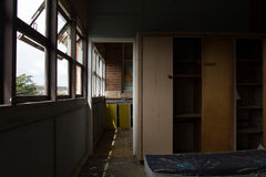 Maison hantée abandonnée Images stock