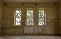 Maison hantée abandonnée Photos stock