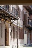 Maison historique à Sibiu, Roumanie Photographie stock libre de droits