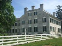Maison historique chez Shaker Village Photos libres de droits