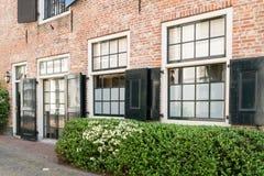 Maison historique dans la vieille ville d'Amersfoort, Pays-Bas Image libre de droits