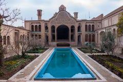 Maison historique de Borujerdi Images libres de droits