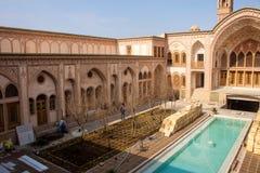 Maison historique de Khan-e Ameriha Image libre de droits