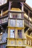 Maison historique Pfister à Colmar Photo libre de droits