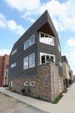 Maison hollandaise moderne à Leyde Photo libre de droits