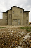 Maison inachevée en construction images stock