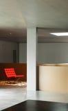 Maison intérieure, mur en béton Photographie stock