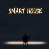 Maison intelligente image libre de droits