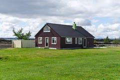 Maison islandaise image libre de droits