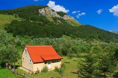 Maison isolée Photo libre de droits