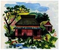 maison japonaise Stock Image