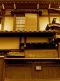 Maison japonaise de style traditionnel Photographie stock libre de droits