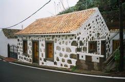 Maison jaune canari Images stock