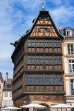 Maison Kammerzell på stället Du Marschera i Strasbourg royaltyfria foton