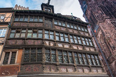 Maison Kammerzell on Place Du March in Strasbourg Stock Image