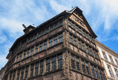 Maison Kammerzell on Place Du March in Strasbourg Royalty Free Stock Photo
