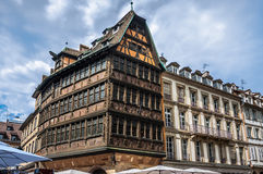 Maison Kammerzell on Place Du March in Strasbourg Royalty Free Stock Photography