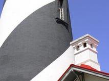 Maison légère rayée spiralée Images libres de droits