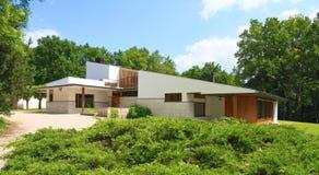 法国:建筑学-阿尔瓦尔・阿尔托/Maison L Carrï ¿ ½ 免版税库存图片