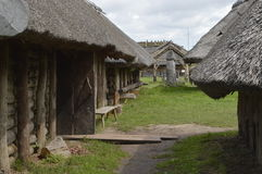 Maison médiévale Image libre de droits